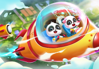 Little Panda's Space Adventure - Ukukopa&Ukuqhawula