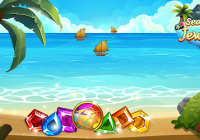 Sea of Jewels : Aloha ! Match3 puzzle Cheats&Corte
