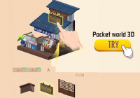 Pocket World 3D - Assemble models unique puzzle Cheats&Hack