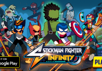 Stickman Fighter Infinity - Astuces Super Action Heroes&Pirater