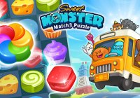 Sweet Monster™ Friends Match 3 Puzzle | Swap Candy Cheats&Hack