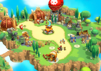 Wild Sky TD: Tower Defense Legends in Sky Kingdom Cheats&Hack