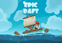 Epic Raft: Fighting Zombie Shark Survival Games Cheats&Hack