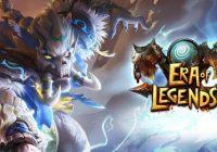 Era of Legends: epicka zamieć wojenna i kody przygodowe&Włamać się
