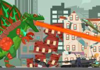 Hybrid Titan Rex: City Rampage Cheats&Hack