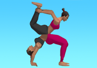 Couples Yoga - Svindl&Reiðhestur