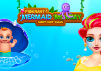 Mermaid Mom & Newborn - Babysitter Game Cheats&Хак