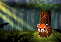 Red Panda: Casual Slingshot & Animal Logic Game Cheats&હેક