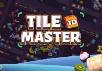 Tile Master 3D - Triple Match & 3D Pair Puzzle
