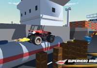 Superhero Mega Ramp Car Stunt - Monster Truck Race Cheats&Hack